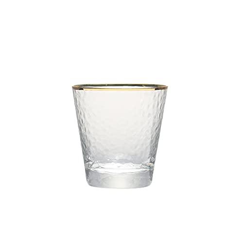 Yuanyuan Conjunto De 2 9oz 11oz Hecho A Mano Plomo Soplado De Vidrio Libre De Vidrio De Vidrio Mezclado De Vidrio De Vidrio para Jugo De Whisky Tumblers De Agua (Color : 260ml Set of 2PCS)