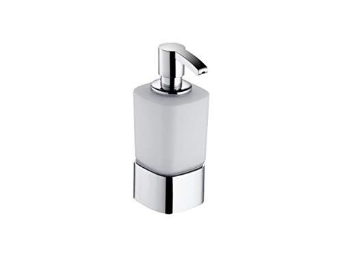 Keuco 11653019001 Schaumseifenspender Elegance, Tischmodell, Opalglas, verchromt