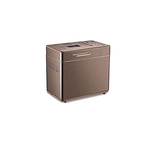 YAYA2021-SHOP Máquina para Hacer Pan Máquina de Pan para Pan de Pan doméstico de Pan Hecho en casa Incluido Folleto de Receta Retención de Calor y función de Tiempo Panificadora Máquina