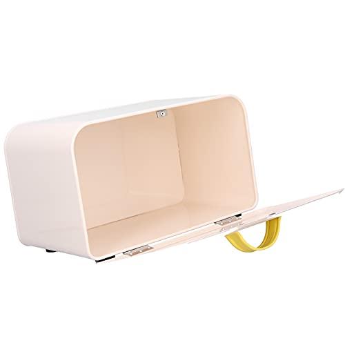 Caixa de pão, suporte de armazenamento de pão de cozinha ferro magnético multifunções para pastelaria para pão