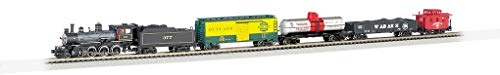 Bachmann Trains - Trailblazer Ready To Run 60 Piece Electric Train Set - N Scale