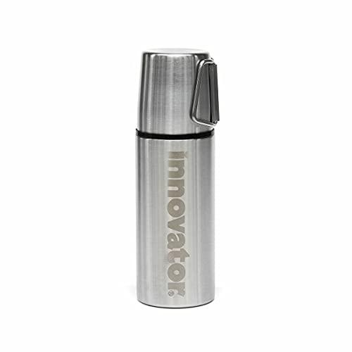 東亜金属 ステンレスボトル 魔法瓶 ボトル イノベーター シリーズ 400ml ソリッドシルバー
