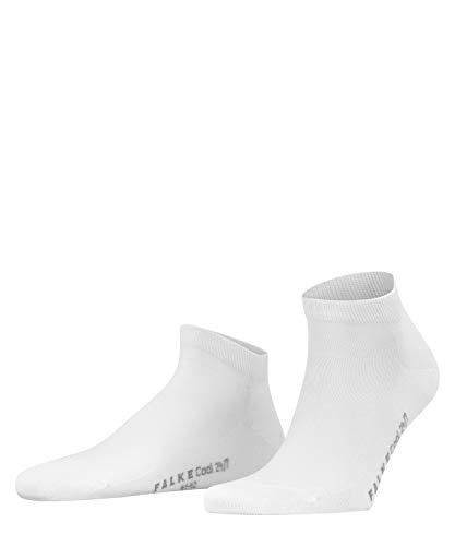 FALKE Herren Sneakersocken Cool 24/7 - 80% Baumwolle, 1 Paar, Weiß (White 2000), Größe: 45-46
