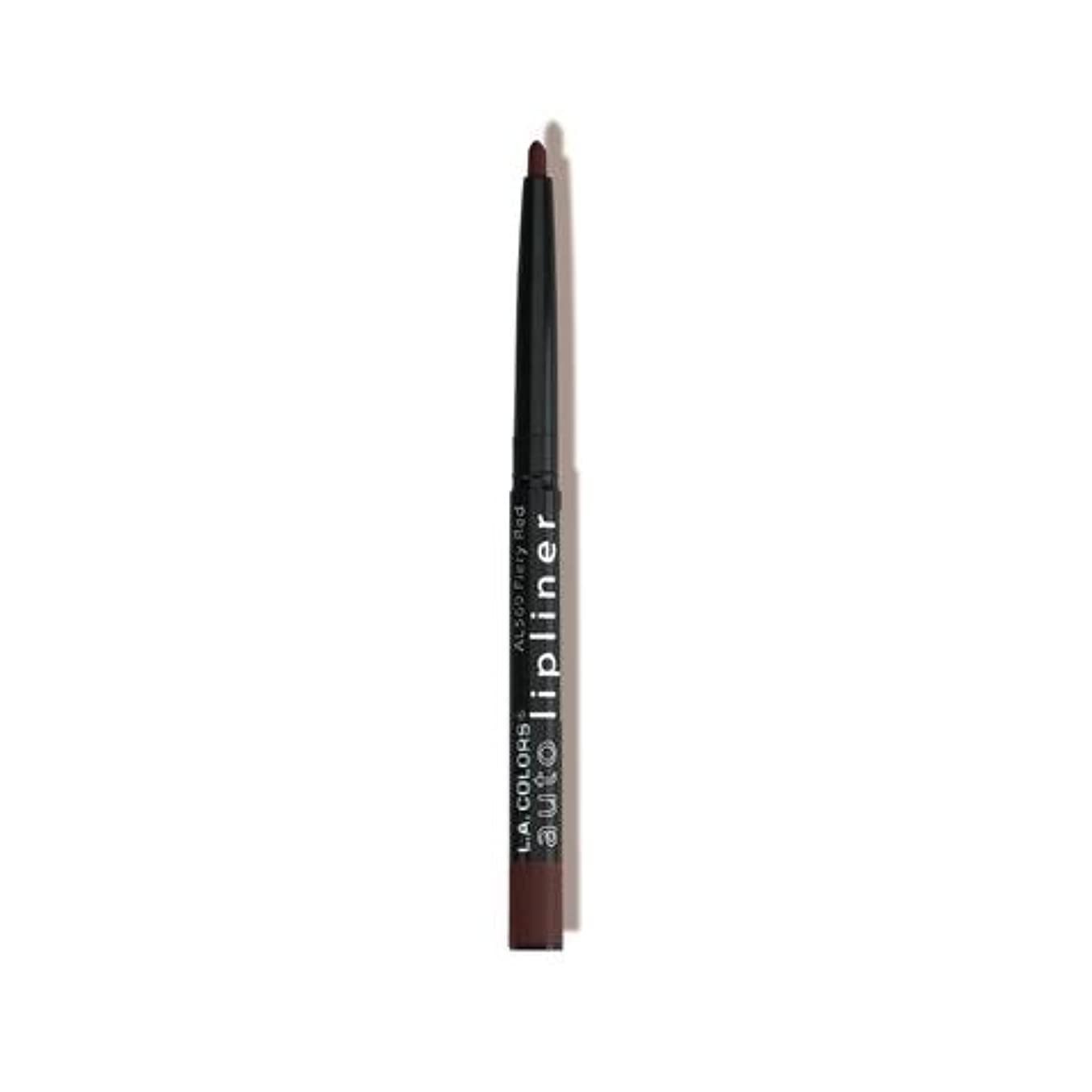 (6 Pack) L.A. COLORS Auto Lipliner - Cocoa (並行輸入品)