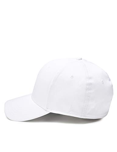 CARE OF by PUMA Gorra deportiva elástica, Blanco (White), Small / Medium, Label: Small / Medium