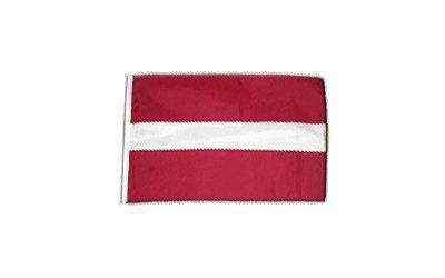 Fahne Flagge Lettland 30 x45 cm
