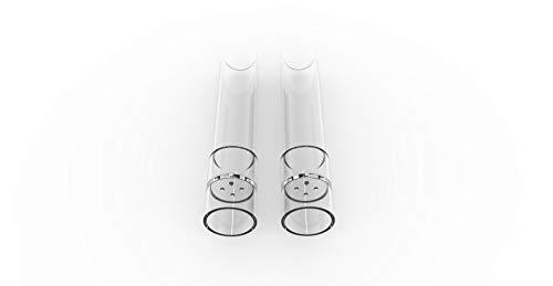 BMTick Mundstück für Arizer Air/Arizer Solo (Glas, 70mm) (2 x Mundstück)