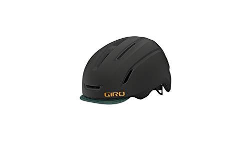 Giro Caden LED City Bicycle Helmet Black/Green 2021 Size: S (51-55 cm)