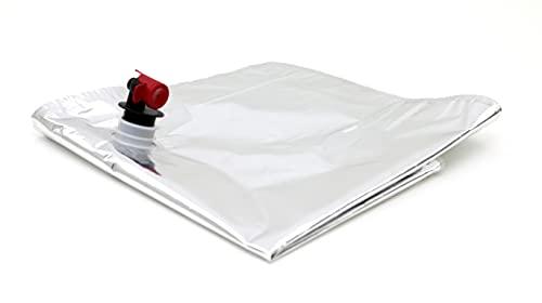 Hiviot Bolsa de Vino 15 litros Aluminio, Plata, 15 L