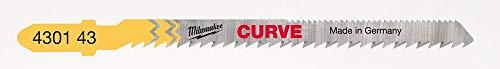 Milwaukee 4932430143 Stichsägeblatt Holz Kurvenschnitte CURVE
