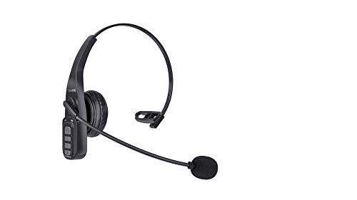 Bluetooth Headset V4.2,Bluetooth Earpiece with Noise Canceling Mic for Cell Phones/Business/Driving/Office