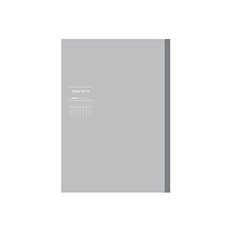 (業務用セット)ナカバヤシ ロジカル シンクノート 糸綴じノート A4 /方眼7mm 国語タテ罫 グレー グレー罫ノ-A406ST-NN【×10セット】 生活用品 インテリア 雑貨 文具 オフィス用品 ノート 紙製品 ノート レポート紙 14067381 [並行輸入品]