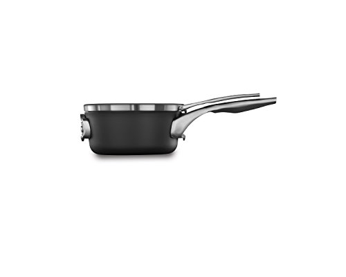 Calphalon Premier Space-Saving Hard-Anodized Non-Stick 1.5-Qt. Saucepan & Lid