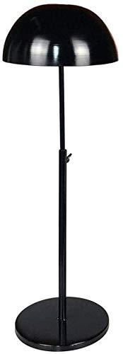 Kledingstandaard, onafhankelijk verstelbaar, metaal, baseball-pet, sportcaps, tissue steiger bibliopost, 5 haken van metaal, voor de badkamer (kleur: zwart, maat: 48 cm) 8bayfa 48cm Zwart
