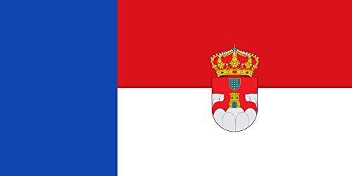 magFlags Bandera XL Municipal de Sotalbo Ávila «Bandera tercia al batiente Doble | Bandera Paisaje | 2.16m² | 100x200cm