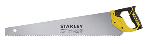 Stanley Jet Cut HP handzaag (600 mm lengte, 7 tanden/inch hardpoint-vertanding, 45°/90 ° aanslag) 2-15-241