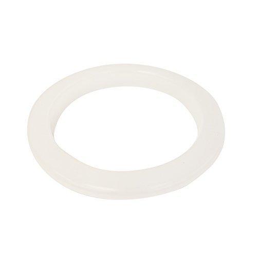 1 X Ceramic Porcelain Crock Plastic Protection Ring - White