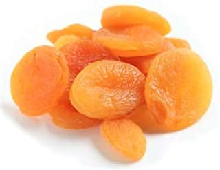 Amrita Foods - Whole Turkish Apricots, 2 lb, Gluten-Free, Dairy-Free, Soy-Free. Tasty Snack for Every Day.