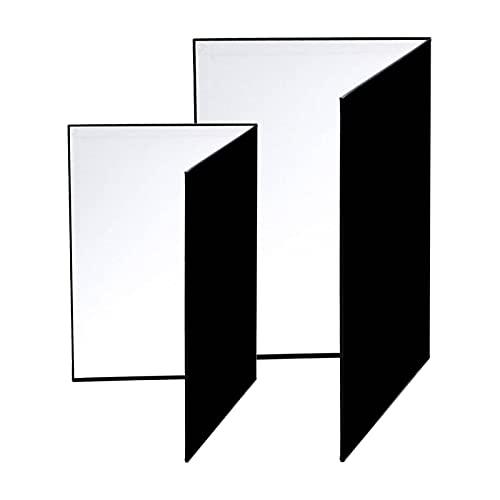 2 Piezas Reflector de luz, Reflector de luz 3 en 1 Tablero...