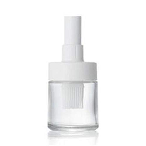DFSDG Botella de aceite de silicona para barbacoa con pinceles, resistente al calor, cepillo para hornear aceite con cubierta, herramienta de cocina (color: estilo 3)