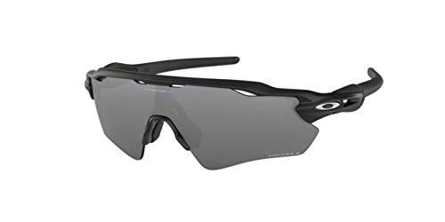 Oakley Radar EV Path, OO9208 (51) Matte Black/Prizm Black Polarized 138mm, Sunglasses Bundle with original case, and accessories (5 items)
