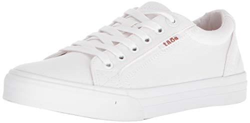 Taos Footwear Women's Plim Soul White Sneaker 9 M US