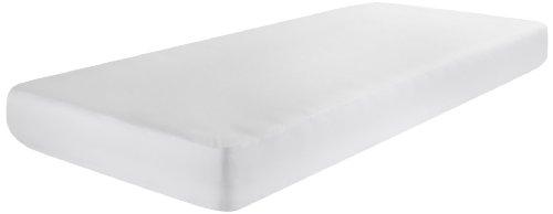 Dormisette hoeslaken voor kinderbed, jersey, 100% katoen, 70 x 140 cm, wit