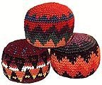 Hacky Sack~ Set of 3 ~ Assorted Colors ~ High Quality ~ Imported From Guatemala by Hacky Sack