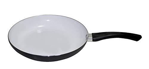 Poêle à frire avec revêtement céramique–Pour tous les types de feu–fettarm, Métal, noir, Ø 28cm