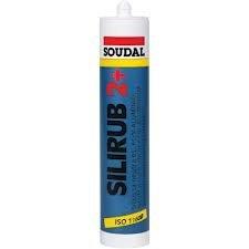 SOUDAL - Silicona neutra silirub 2+ blanca