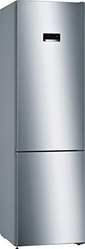 Bosch KGN393IDA Serie 4 Freistehende Kühl-Gefrier-Kombination / D / 203 cm / 191 kWh/Jahr / Inox-antifingerprint / 279 L Kühlteil / 89 L Gefrierteil / NoFrost / VitaFresh