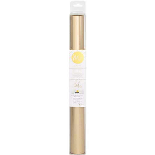 American Crafts minc Reactive Folie 12.25-inch-Matte Champagner 10'Roll, andere, Mehrfarbig