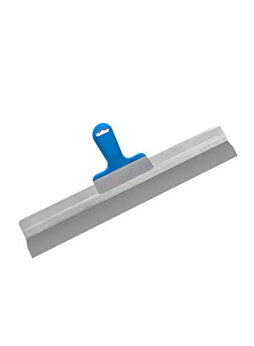 Flächenspachtel 0,4 mm blau 570 mm Spachtel Fassadenspachtel Dekorspachtel Rakel Alu PROFI