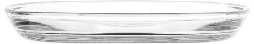 LEONARDO HOME Glasteller Mio, Ø 18 cm, 6-er Set, Dessert , Frühstück, Schale, Salat Teller, eckig, stapelbar, spülmaschinenfest, 019085