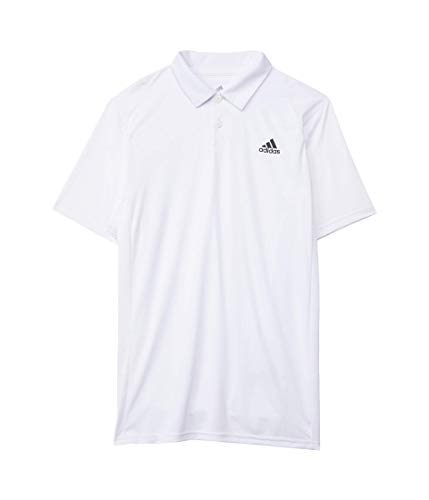 adidas unisex-child B Club Polo White/Black X-Large