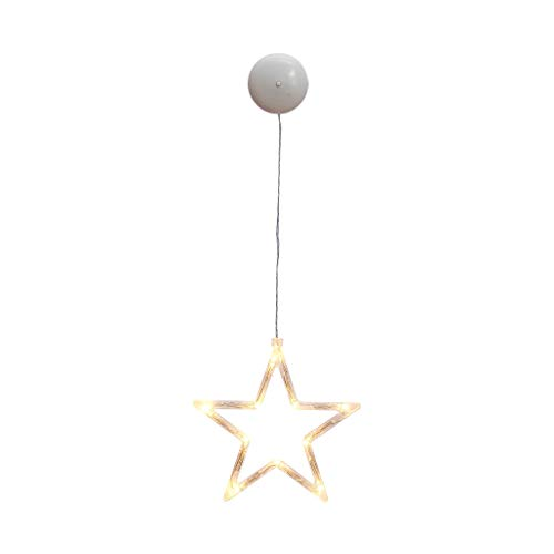MULINN Christmas Led Decoration Hanging Lights Ndoor Outdoor Party Christmas Tree Decoration Powered by AAA Batteries Fine Workmanship Led Modeling Light
