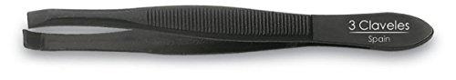 3 Claveles 12232 Pinza Depilar, Cangrejo de 8 cm