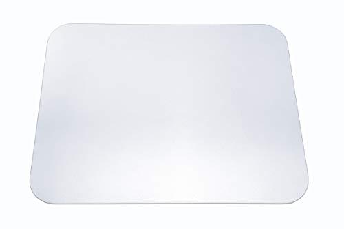 Trend Products Stuttgart Tischmatte Crystal transparent (30x40 cm) mit minimal strukturierter Oberfläche und patentierter Haftschicht, aus PET, als Tischset, Tischschutzmatte oder Schreibunterlage
