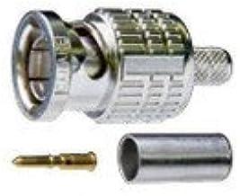 カナレ電気 BCP-A5F S5C-FB,5C-FV用 20ヶ 1ヶあたり228.6円(税込) 75ΩBNC圧着式コネクタ接栓