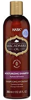Hask Macadamia Oil Moisturizing Shampoo, 355 ml