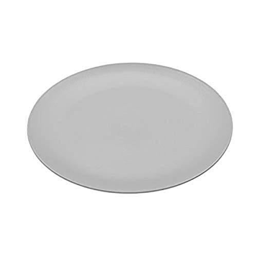 koziol Rondo Flacher Teller, Kunststoff, cool grey, 26.2 x 26.2 x 1.7 cm
