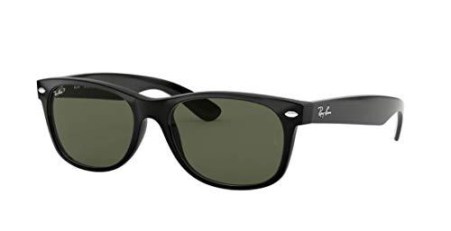 Ray-Ban RB2132 901/58 Wayfarer Black/G-15 XLT - Gafas de Sol polarizadas (52 mm)