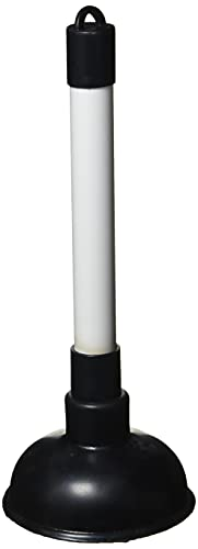 Merriway BH01938 100mm (4 inch) Sink Plunger with 225mm (9 inch) Plastic...