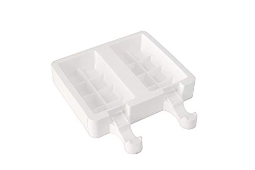 Silikomart 193024 Eisform Waffel, 2er-Form