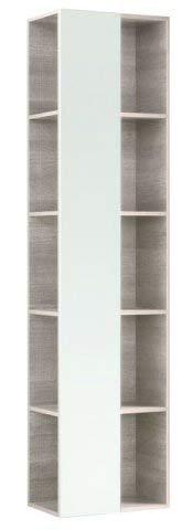 Geberit Citterio Regal mit Spiegel 500569JI1, 40x160x25cm, Holzstruktur Eiche beige