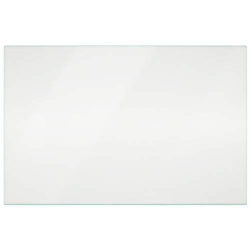 Impresa Products 240350608 - Repuesto de vidrio nítido compatible con Frigidaire-– Inserto de la cubierta del refrigerador – Estantes/Estantes/Cajón partes – Inserto de marco de 24 x 15.5 pulgadas – de repuesto