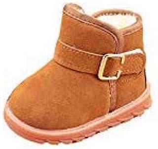 e216b188 Leafii's Botas de Nieve para niños Amarillas de 23 Yardas y Zapatos de  algodón de Terciopelo