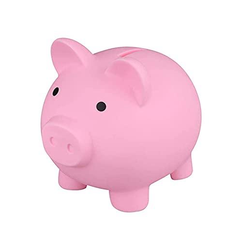 Urisgo Hucha con Forma de Cerdo de Dibujos Animados, Monedas para Ahorrar Dinero, Caja de Efectivo, Tarro, Hucha de Oficina, contenedor para niños