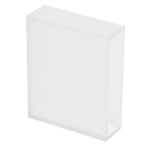 F Fityle 1 STK. Quarzglas-Küvette Spektrometer-Zelle für Chemie, Lebensmittel, Pharma, Umweltschutz, Kraftwerke - klar 50mm