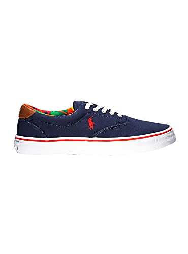 Polo Ralph Lauren SNEAKERY Recycled Canvas Navy Multic 816829749002